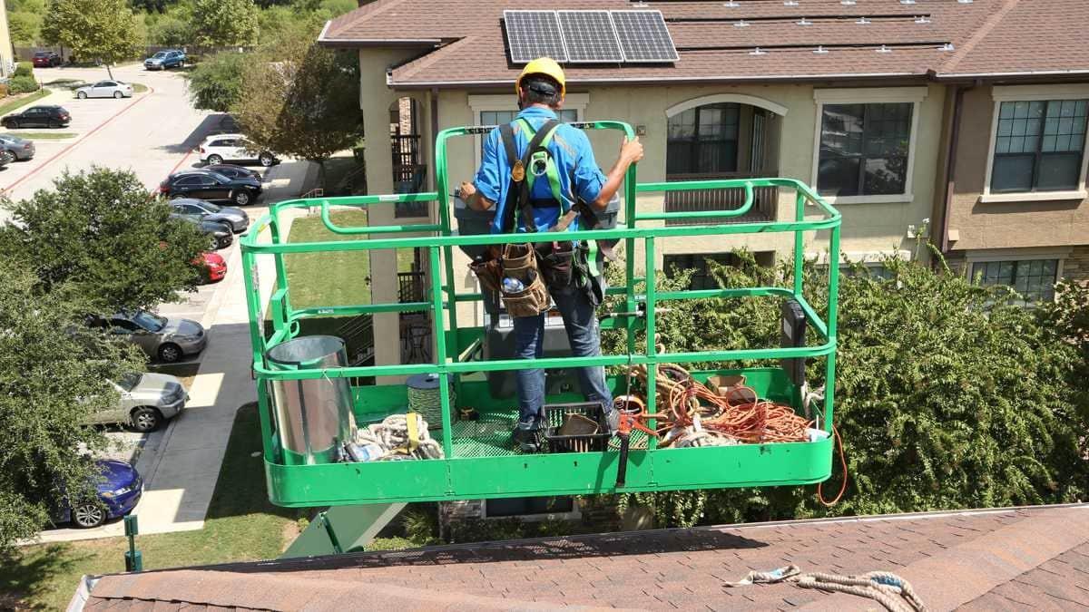 Austin, TX Solar on Apartments