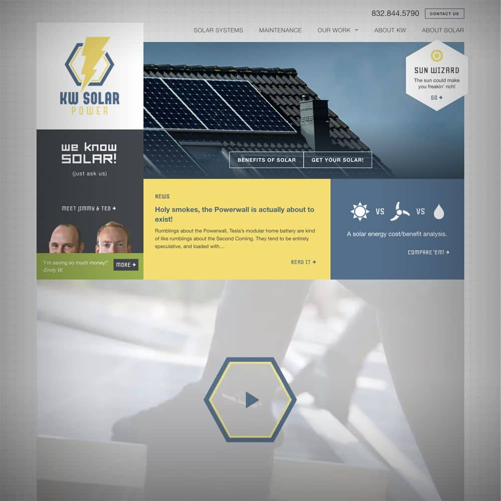 New KW Solar Website