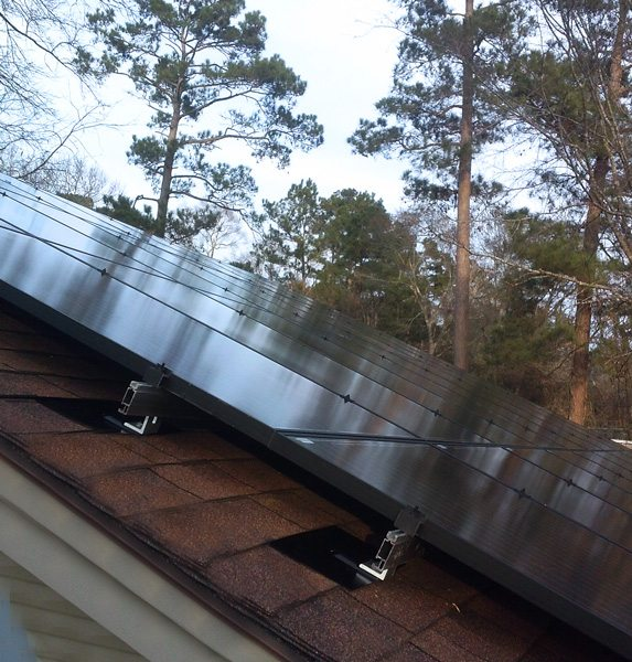Conroe, TX solar install
